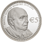 Collector coin in honour of Poet Costas Montis